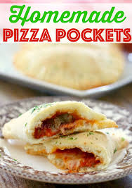 How To Cook A Pizza Homemade Pizza Pockets The Country Cook