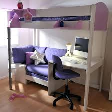 loft bed with futon 2 white high sleeper with sofa bed desk loft bed futon