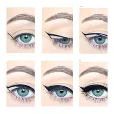 with all things practice makes perfect and never under any cirstances attempt a liquid liner cat eye in a hurry