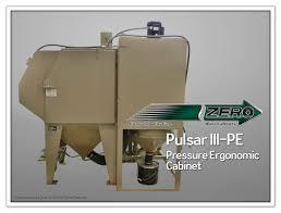 Clemco Industries Blast Cabinets Pulsar Iii Pe Pressure Blast Cabinet Florida Silica Sand Company