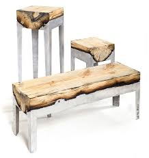 tree trunk furniture for sale. Designer Hilla Shamia Fuses Cast Aluminum And Tree Trunks To Chairs Sale Trunk Furniture For