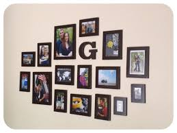 awesome cool picture frame ideas by unique frame photos arranging with white background inspiring for cool