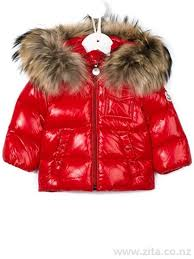 K2  padded jacket - Moncler - Kids Clothing - Red Baby Jackets 137225428