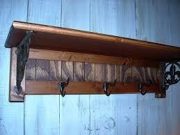 Wall Mounted Wood Coat Rack Wall Mounted Wood Coat Racks Wall Mount Ideas 12