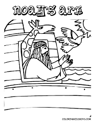 Noah S Ark Bible Coloring Pages