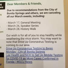 Bonita Springs Historical Society - From the desk of our President ...