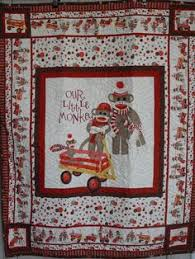Free Monkey Applique Quilt Patterns | ... show and tell: Sock ... & Our Little Monkey Quilt, via Etsy. Adamdwight.com