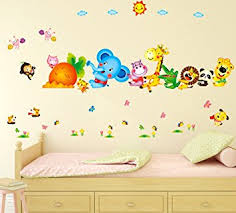 Small Picture Buy Decals Design Happy Cute Elephant Monkey Cartoon Animals