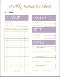 basic budget worksheet college student free printable budget worksheets for students with binder 2019 plus