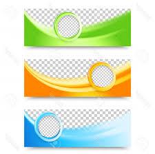 Flyer Header Photostock Vector Flyer Template Header Design Banner Design