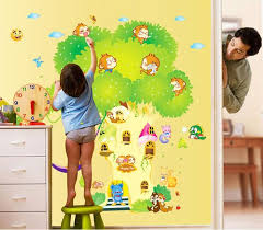 Small Picture Diy Animal House Tree Wall Stickers Kids Room Decor Bedroom Wall