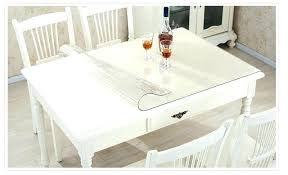 glass table covers glass table covers transpa plastic tablecloth soft glass table cover for waterproof kitchen dining pad for glass table covers round