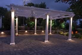 home lewis university pergola lighting