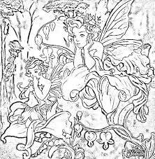 Een Fairy Kleurplaat Coloring Pages Fairy Coloring Pages Fairy