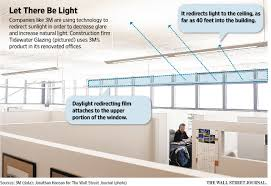 office cubicle lighting. 3M Daylight Redirecting Window Film Technology Office Cubicle Lighting