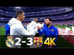 Real Madrid vs Barcelona 2-3 - UHD 4k La Liga 20162017 - Full ...