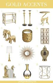 Small Picture Home Decor Gold Accents Aisle Perfect