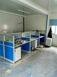 Office in container White Peb Structure In Ahmedabad Peb Structure Manufacturer In Ahmedabad Container Office In Kenya