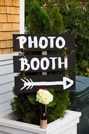 makeshift photo booth