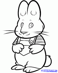 Small Picture How to Draw Max Max and Ruby Step by Step Nickelodeon