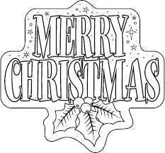 Merry Christmas Coloring Pages Make This Page The Best Description