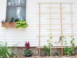 how to build a garden trellis from