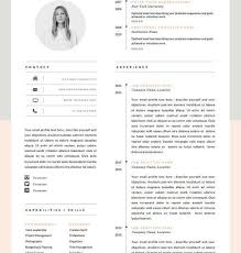 26 Best Cv Images On Pinterest Resume Templates Resume Design And