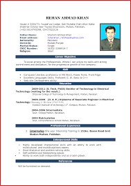 Lovely Resume Format 2016 Types Of Letter