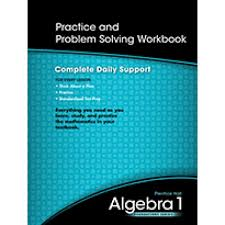 Holt Mcdougal Algebra   Practice And Problem Solving Workbook     algebra   practice and problem solving workbook worksheets for