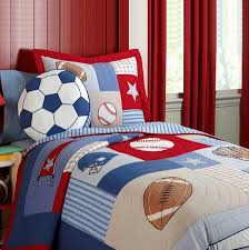 football bedspreads football soccer kids boys bedding patchwork quilt quilted set