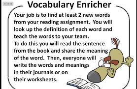 Literature Circles – Word Finder | 5/6N 2014 Class Blog