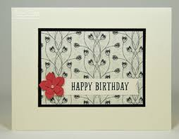 Elegant Birthday Card Designs Simple Design For Company Thank You