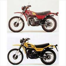 yamaha dt250 manual 1977 1978 yamaha dt250 dt400 enduro service parts manual on a cd