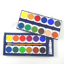 Lyra Opaque <b>Watercolor Paint</b> Set - <b>24 Colors</b> - A Child's Dream
