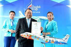 บางกอกแอร์เวย์ส คว้ารางวัล Top 5  สายการบินที่มีการบริการบนเครื่องที่ดีที่สุดในโลก และ Top 10  สายการบินที่ดีที่สุดในโลก ประจำปี 2559 จาก SmartTravelAsia - บางกอกแอร์เวย์ส