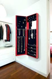 wall jewelry organizer best images on jewellery mounted canada