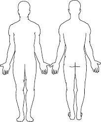 Blank Body Template Friendsmh Info