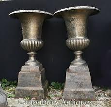 garden cast iron garden urns vatican