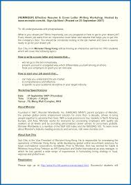 Effective Resume Writing Samples Writing An Effective Cover Letter How To Write An Effective Resume 10