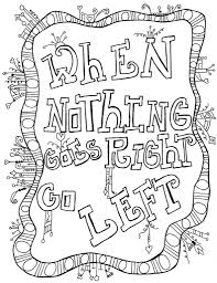 Coloring Pages Printable Inspirational Quoteso Color