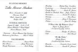 funeral mass program catholic funeral mass program template sample service verbe co