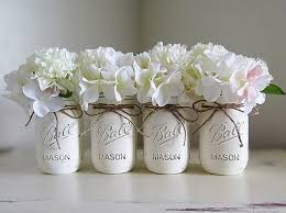 Decorated Jars For Weddings Baby Shower Decorations Mason Jar Centerpieces Rustic Home 34