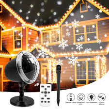 104 Led Snowflake Motion Lights Christmas Snowflake Projector Lights Kareeme Rotating Led Snowfall Projection Lamp With Remote Control For Christmas Valentines Day Halloween
