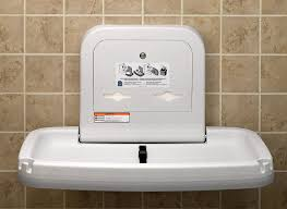 bathroom changing table. Amazon.com: Koala Kare KB200 Horizontal Wall Mounted Baby Changing Station, White Granite: Home Improvement Bathroom Table