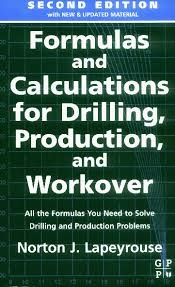 Well Control Formulas Charts And Tables Free Download Pdf Formulas And Calculations For Drilling Production And