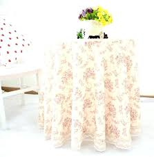 tablecloth for small round table tablecloth small round side table home romantic sweet flowers print wedding tablecloth for small round table
