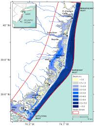 Barnegat Inlet Tide Chart 2016 Nhess Spatial Distribution Of Water Level Impacting Back