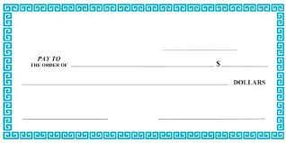 Blank Cheque Template New Big Check Template Word Likeable Free Stub 48 Cheque Printable Blank