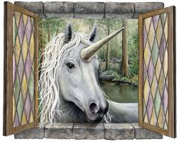 unicorn wall decal