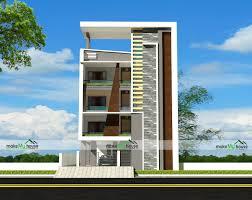 Design Of G 3 Rcc Building 40x80 Home Plan 3200 Sqft Home Design 4 Story Floor Plan